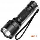 LED Flashlight CREE Q5 / XM-L T6 1000lm / 2000Lumens Torch Zoomable Cree LED Torch light N