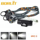 3W Mini IR Sensor Headlight LED USB Rechargeable Head Flashlight Lamp 1 Mode Headlamp Lant