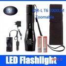 CREE XML T6 5 Modes 2000 Lumens Led Flashlight Camping Lantern Torch Lamp Hunting Lamps Ta