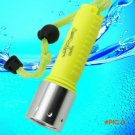 Professional LED Torch Lantern Lighting Light Underwater Diving Flashlight Torch Waterproo
