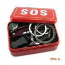 Hot Sale Portable Emergency Equipment SOS Kit Car Earthquake Emergency Supplies SOS Outdoo
