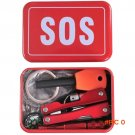 Outdoor Hiking Camping Tools Emergency Survival Tool Set Multi-function Wildlife SOS Tool