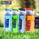 Plastic Sports Water Bottle Space Cup Bike/Outdoor/Camping Protein Powder Shaker Bottles 470ML BC70
