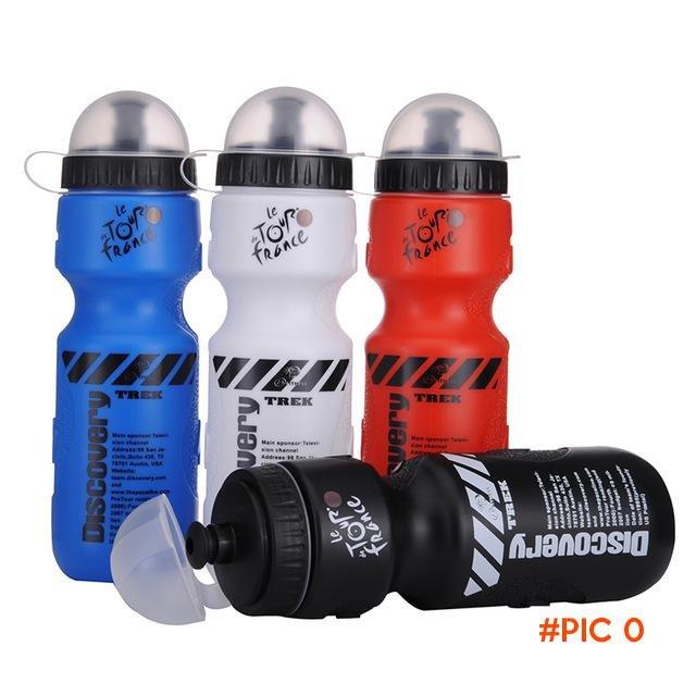 650ML Portable Sports Water Bottles Outdoor Cycling Running Camping Lemon Juice Drinkware