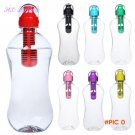 1pcs 7Colors 550ml Outdoor Portable Multifunctional Camping Plastic PE Hydration Filtered