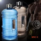 2.2L Large Capacity Water Bottles Outdoor Sports Gym Half Gallon Fitness Training Camping