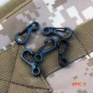 5PC Edc Snap Spring Clip Camping Hiking Hook Carabiner Camping Equipment Backpack Tactical