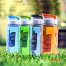 Plastic Sports Water Bottle Space Cup Bike/Outdoor/Camping Protein Powder Shaker Bottles 4