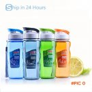 Sports Water Bottle Space Cup Bike/Outdoor/Camping Protein Powder Shaker Bottles 470ML BC289