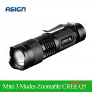 2015 Newest Waterproof LED Flashlight High Power 2000LM Mini Spot Lamp 3 Models Zoomable C