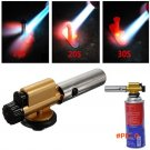 Brand New Butane Gas Burner Electronic Ignition Copper Flame Gun Lighter Tool For Camping