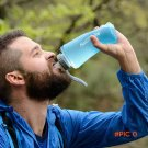 New Sport Folding Water Bag For Sports Camp Travel Cycling Hiking 500ml 750ml Portable Sil