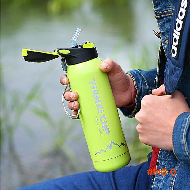 2016 New my bottle bicycle stainless steel water bottle vacuum insulation Sport Bottle 500