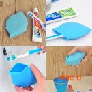 Free Shipping New Portable Soft Silicone Leaf Shape Camping Hiking Home Water Drink Pocket