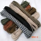 108 colors 100M Paracord 550 Paracord Parachute Cord Lanyard Rope Mil Spec Type III 7Stran