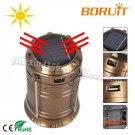 Ultra Bright Portable LED Camping Lantern Solar Flashlights, 1-Year Warranty,Outdoor Campi