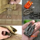 5 Pcs Molle Strap EDC Outdoor Equipment Camping Backpack Bag Webbing Connecting Buckle Cli