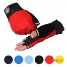 High Quality Unisex Outdoor Sport Bike Bicycle Fingerless Sports Half Finger Glove Cycling