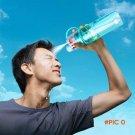 Water bottle sport Spray bottle Cycling outdoor Moisturizing shaker Transparent Travel Pla