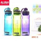 800ML Flesh Fruit infuser infusing  Flip Lid Water Bottle Sports Fitness Health Lemon Juic