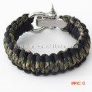 19 Colors Climbing Rope Survival Cord Bracelets For Women Outdoor  Paracord Bracelets Men