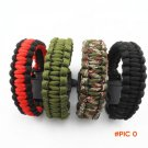 2016 Camping Hiking Emergency ParaCord Bracelet For Men Women Survival Parachute Rope Whis