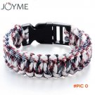 Paracord Bracelets KIT Military Emergency Survival Bracelet Men Women Unisex Rope Charm Br