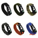 Outdoor Mens Camping Hiking Mountain Climbing Rope Cord Paracord Survival Gear Escape Brac