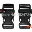 """20pcs/lot 3/4"""" Whistle plastic buckles clasp side release shackle for outdoor emergen"""