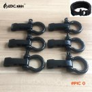 6PCS/lot High quality O Shape Adjustable Stainless Steel Anchor Shackle Outdoor Camping Su