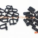 5PCS 2.5*5.5CM Wholesale Adjustable Alloy Anchor Shackle With Compass Camping Survival Rop