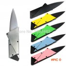1PCS,3rd Credit Card Knife Wallet Folding Safety Metal Knife Steel Handle Sharp Tactical R