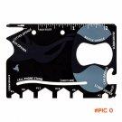 5Pcs Credit Card Knife Multifunctional Pocket Knife Wallet Multi Tool Multitool Camping Su
