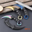 CS GO Fade Counter Strike Karambit csgo Knives Hunting Fighting Tactical Survival Army Kni