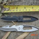 HOT!Mini Multifunction Key Chain Knives Fruit Knife Bottle Opener Folding Blade Pocket Kni