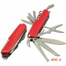 Stainless Steel Folding Knife Multi Tool Multifunctional Army Knife Pocket Hunting Camping