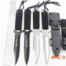 Leggings/Paratroopers Knife Stainless Steel Diving Straight knife Outdoor Survival Camping