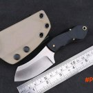 Boker Hunting straight Stainless Steel Tactical Fixed Blade Knife KYDEX Sheath outdoor sur