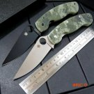 Custom C36 G10 handle 9Cr  steel blade folding knife outdoor camping survival tool Tactica