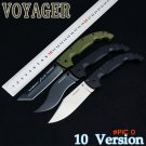 Cold Steel 29UXTGH VOYAGER XL Tactical Knife,D2 Blade Folding Knife,Voyager Knives TANTO O