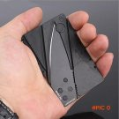 H0501 Credit Card Knife Folding Blade Pocket Mini Wallet Outdoor Camping Hunting Tools Fol