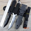 1X Haller Leggings/Paratroopers Knife Stainless Steel Diving Straight knife Outdoor Surviv