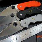 Custom C172 GTC Folding Blade Knife CTS-XHP Blade G10 Steel Handle Tactical Knife Outdoor