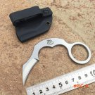 High quality The one Karambit knife mini seel claw Military Tactical Survival Knife D2 bla