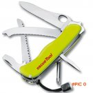 LHX AXY84 Carbon Steel Folding Multifunctional Tools Canivete Navajas Camping Hunting Knif