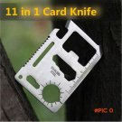 11 Functions in 1 Survival Card Knife  Pocket Saber Card for Outdoor Camping  BC556