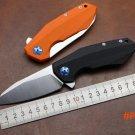 New ZT0456 folding knife Rexford D2 blade Flipper bearing knife Quality outdoor pocket EDC