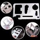 Fantastic! credit card knife multi functional knives blade tactical knife pocket knife fru