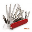 Champ 91mm Switzerland Stainless Steel Knife Multifunctional Folding Army Knives Outdoors