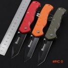 Four color Hardness: 56multi-function knife Camping Hunting Tools Folding Tactical Knife s